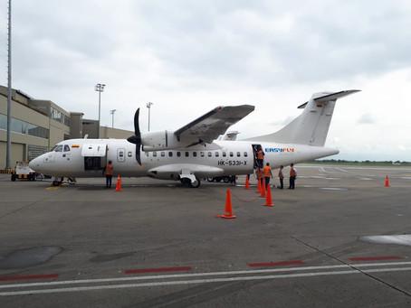 Easyfly, inició operaciones en el Aeropuerto Antonio Nariño de la ciudad de Pasto