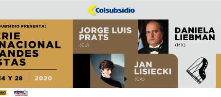 El pianista Jorge Luis Prats abre la programación del Teatro Colsubsidio