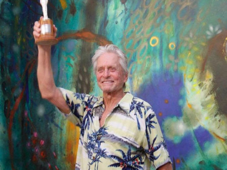 Michael Douglas homenajeado en el prelanzamiento del FICCI60