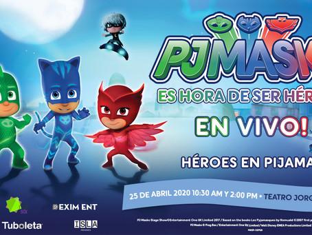 PJ Masks - Héroes en Pijamas en vivo en Colombia