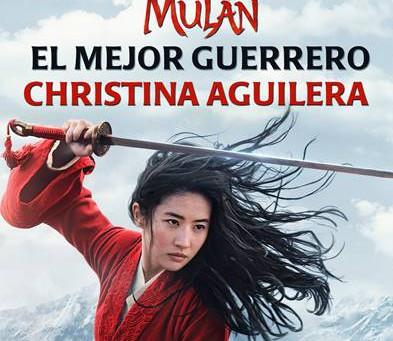 """CHRISTINA AGUILERA presenta la nueva canción """"EL MEJOR GUERRERO"""""""