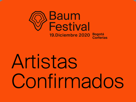 BAUM ARTISTAS CONFIRMADOS