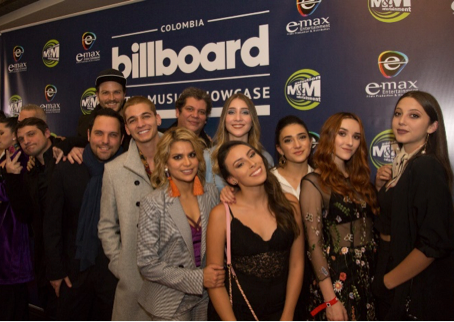 COLOMBIA VIBRO EN LOS BILLBOARD LATIN MUSIC SHOWCASE 2018