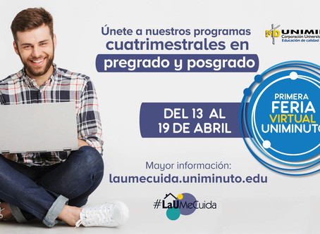 UNIMINUTO realiza su primera Feria Virtual a nivel nacional