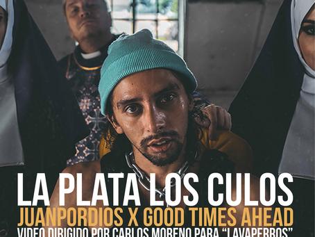 """Juan por dios se reinventa para el lanzamiento de """"La Plata Los Culos"""""""