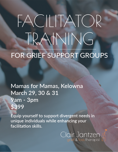 Facilitator Training Web Poster - Mamas