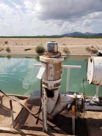 SRC 10 P canal pump.