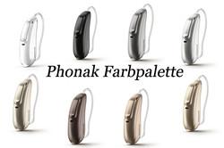 Phonak Farbpalette
