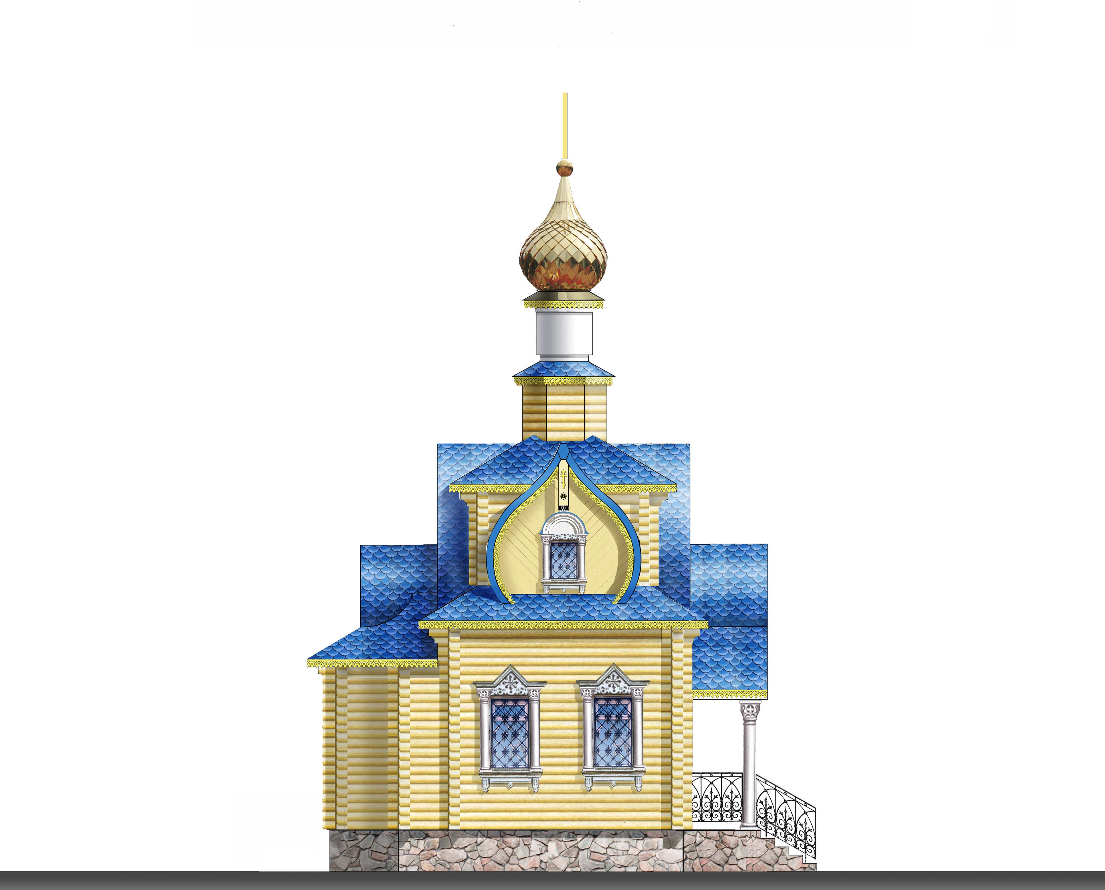 Эскизный проект крещального храма