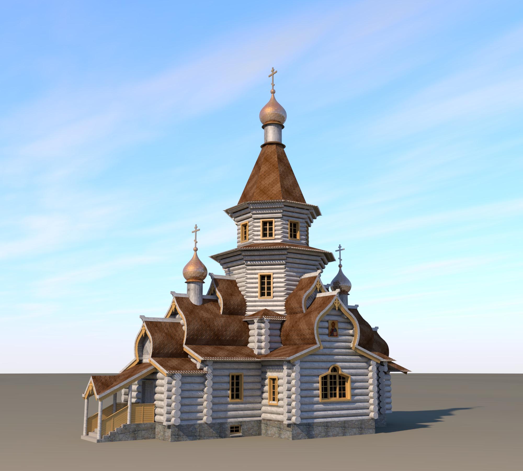 Храм в честь преп. Трифона Печенгско