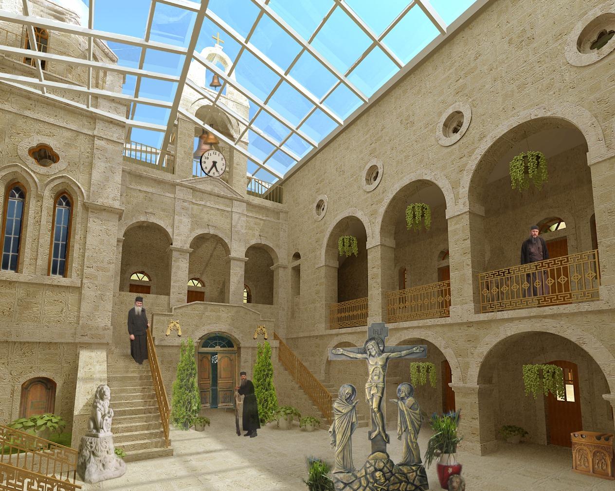Монастырь Св. Герасима на Иордане