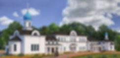 Храм Похвалы Пресвятой Богородицы. Центр Православного Зодчества. Проект храма москва. Проект дома причта. церкви, собор