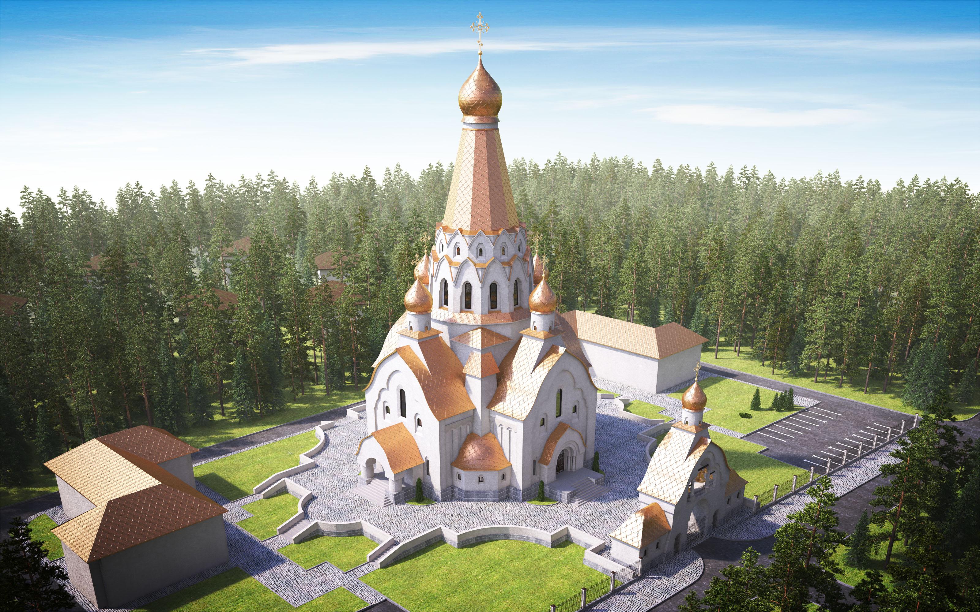 Эскиз храма