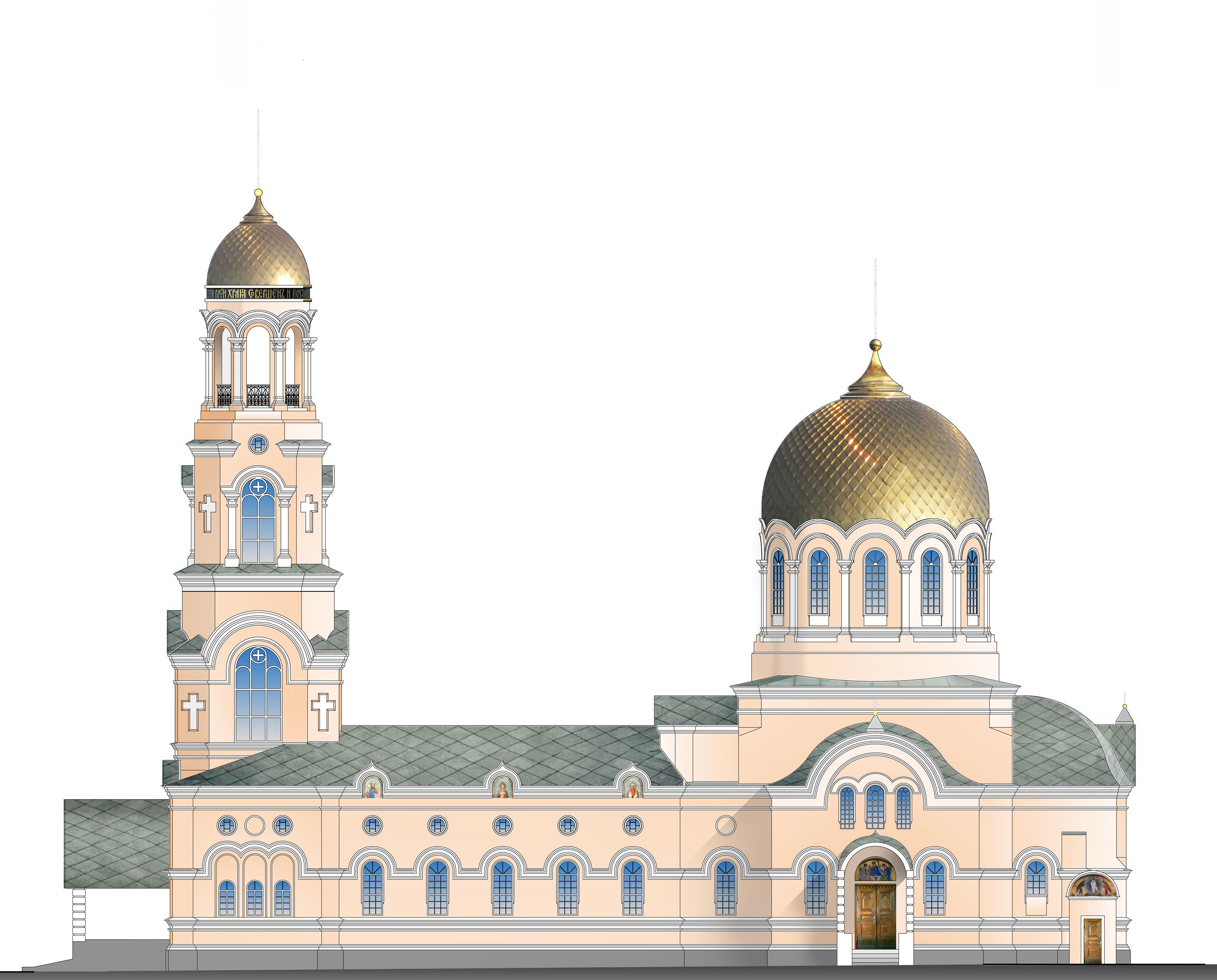 Рабочий проект колокольни