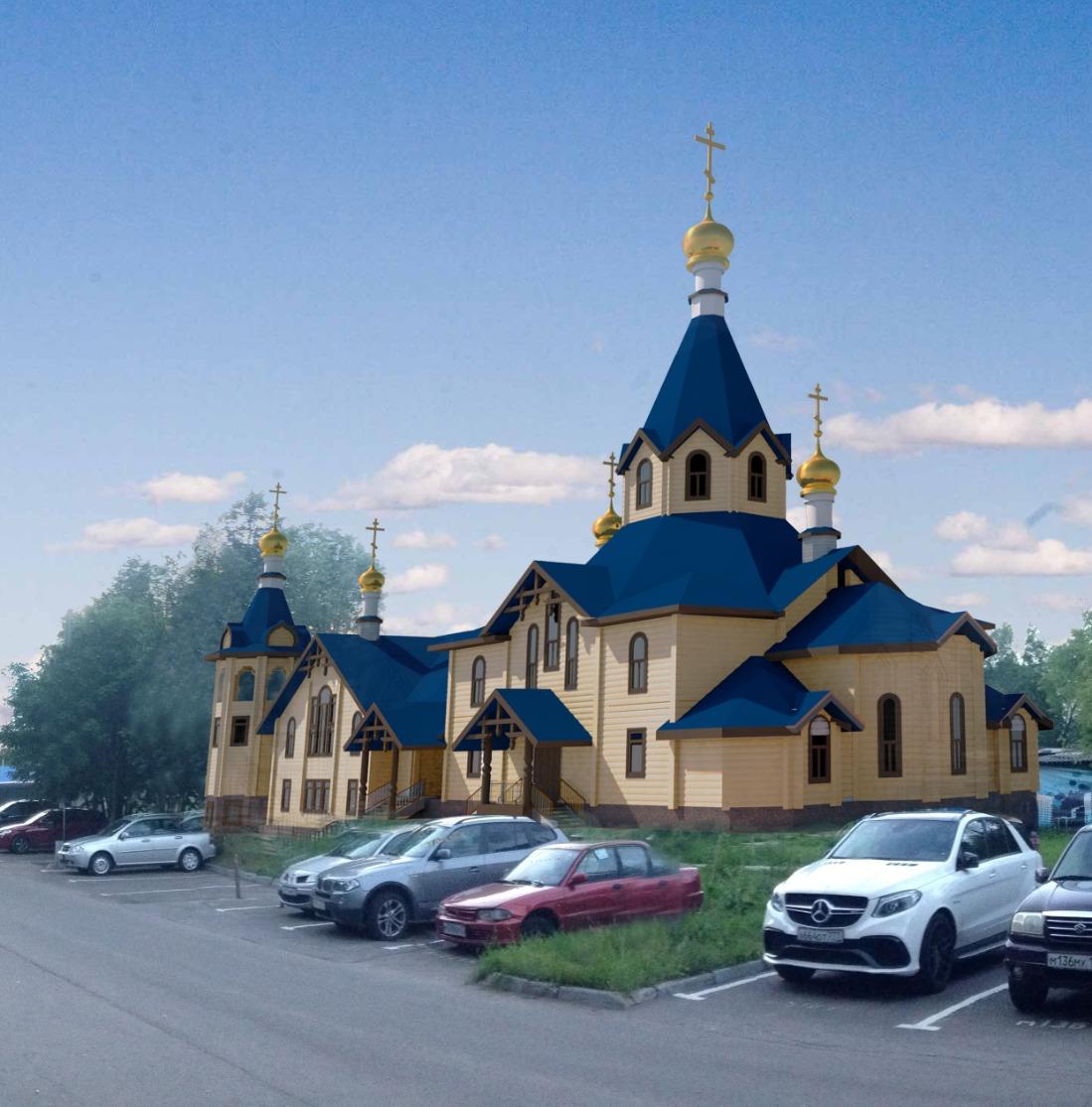 Проект Деревянного храма на 500 чело