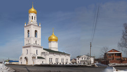 Проект дома причта для Успенского храма