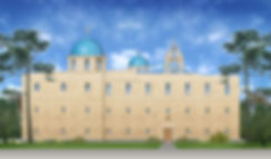 Храм Иоанна Воина. Центр православного зодчества.проектирование храма Москва, проект храма, проекты храмов часовен, проект дома причта, проект собора