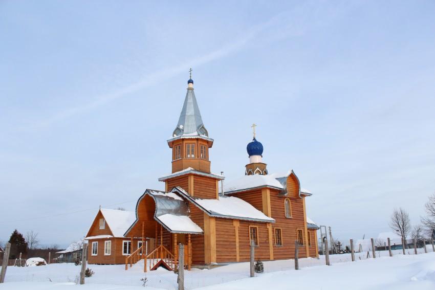 Покровская церковь в д. Никульское