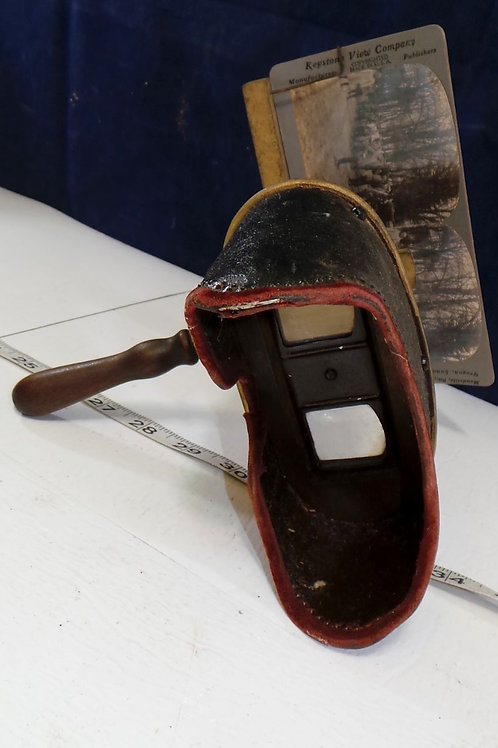 Stereoscope With Card Mfg By Keystone View Co