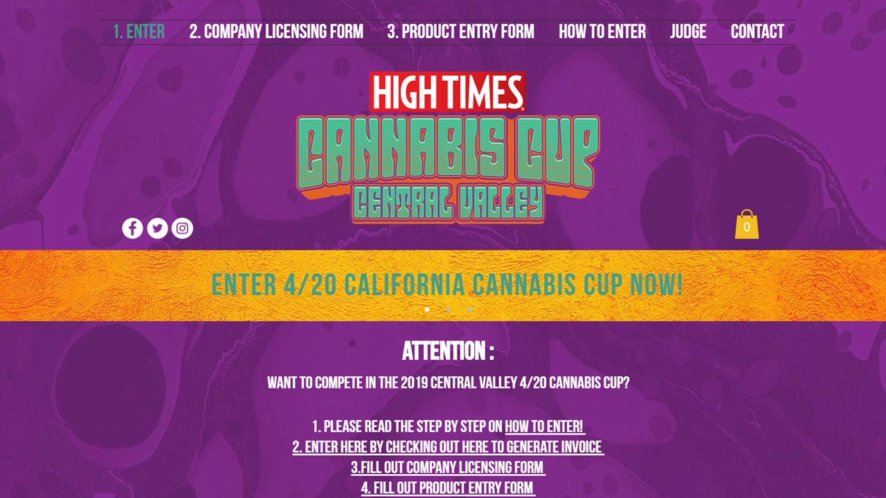 High Times Site Cover