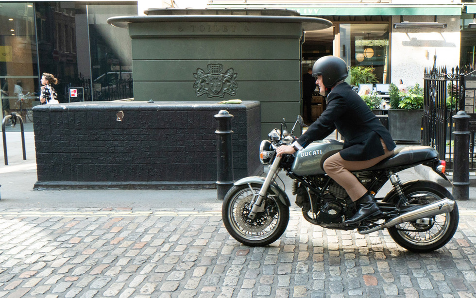 Gentleman and Ducati