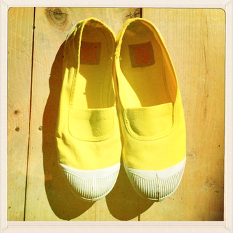 Who has never worn a pair of Bensimon tennis shoes?