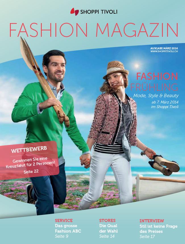 Fashionmagazin 2014, Shoppi Tivoli