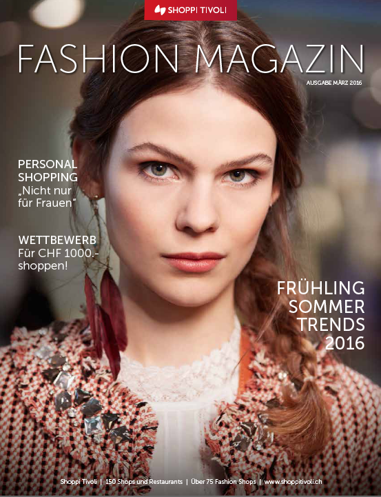 Fashion Magazin Spring 2016