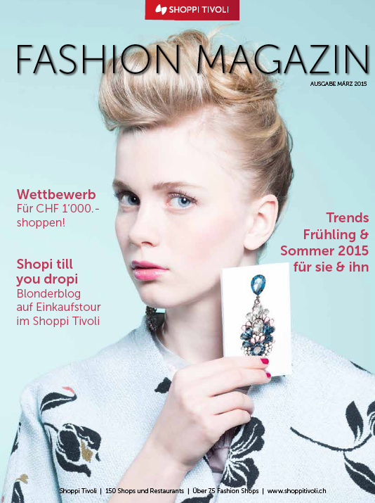 FASHION MAGAZIN SPRING/SUMMER 2015