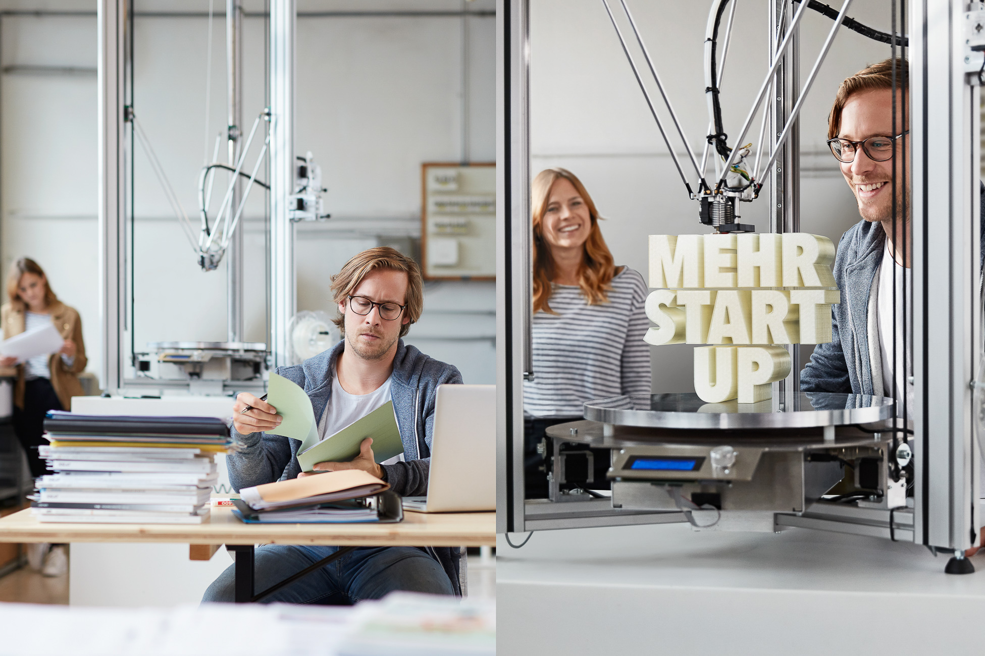SECO Kampagne Start-up