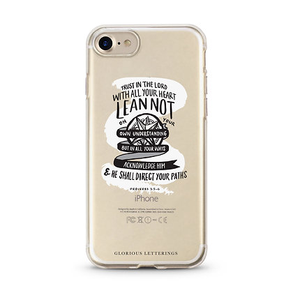 "'Proverbs 3:5-6"" Iphone 8/7 Phone Cover"