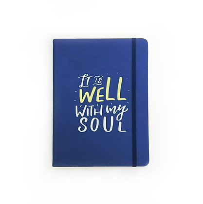 'It Is Well' Thermo Skin Notebook