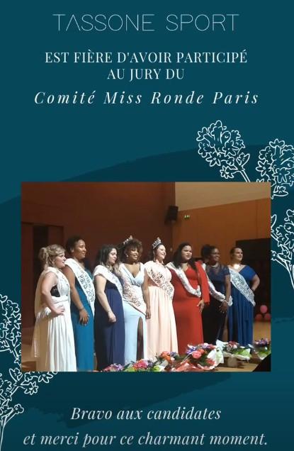 Election Miss ronde Paris