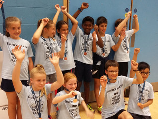 Surrey Youth Games - June 2017       This year the U11 team won joint 3rd place after a close fought