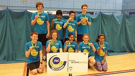U14 Surrey Youth Games Winners