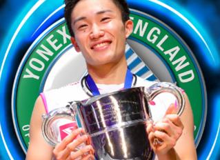 Yonex All England Open Badminton Championships 11th-15th March 2020