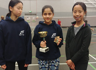Success in ACDBL Singles Tournament