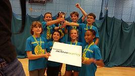 U11 Surrey Youth Games Winners