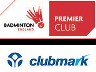 Clubmark and Premier Club Status Renewed!