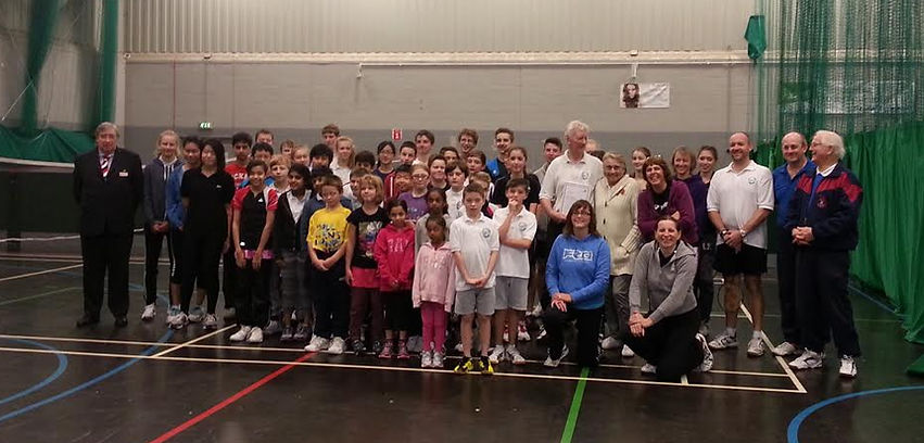 Lightwater Junior Badminton Club Photo
