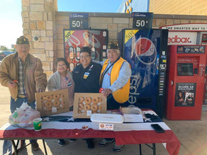 Leon Springs & Boerne Walmart stores support VFW Buddy Poppy program