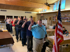 VFW Post 688 Elects 2021-2022 Officers