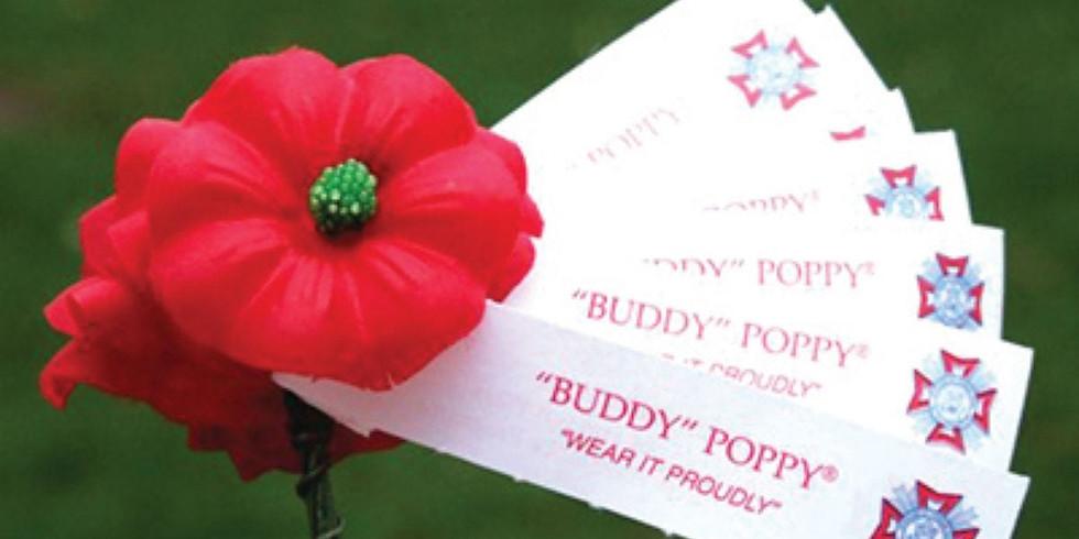 Buddy Poppy Day at Mary's Tacos