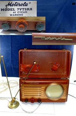 1949 Motorola Tv Model 7vt5ra