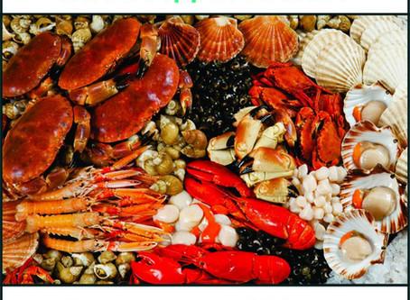 Яжте морски дарове.