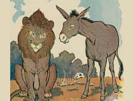 Историята за магарето и тигъра