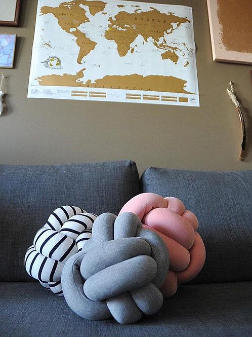 Custom Knot Pillow