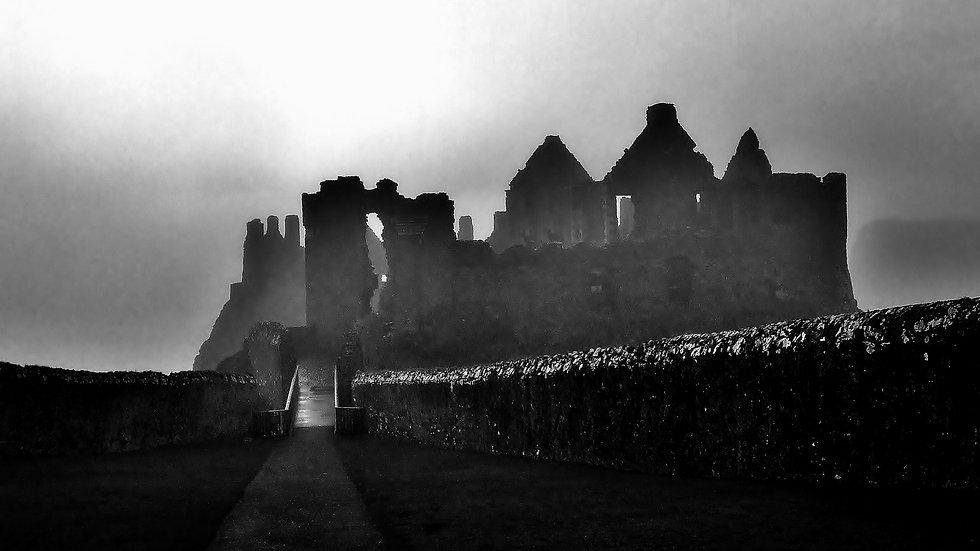 812135 Spooky Dunluce