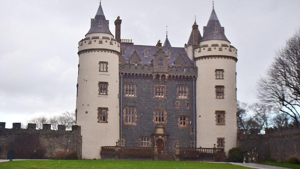 812177 Killyleagh Castle (snowing in April)!