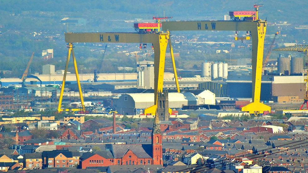 812130 Belfast Skyline